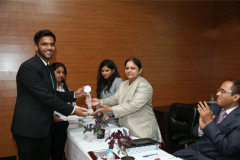Best Speaker: Mr. Rhythm Kataria from Dr. Ram Manohar Lohiya National Law College, Lucknow