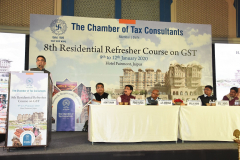 8th Residential Refresher Course on GST was held from 9th January, 2020 to 12th January, 2020 at Hotel Fairmount, Jaipur