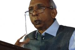 CA A. R. Krishnan (Advisor) welcoming the delegates