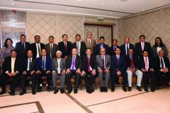 Seated from L to R: S/Shri Hitesh R. Shah, Yatin Desai, Mahendra Sanghvi, Kishor Vanjara, (Past Presidents) Hinesh Doshi, (IPP), Vipul K. Choksi, (President) Anish Thacker, Vipul Joshi, K. Gopal, Paras K. Savla (Past Presidents) and Paresh P. Shah Standing from L to R: Ms. Varsha Galvankar S/Shri Mehul Sheth, Rahul Hakani, Heneel Patel, Bhadresh Doshi, Haresh P. Kenia, Parag S. Ved, Rajesh P. Shah, Rajesh L. Shah, Ashok Sharma, Ketan L. Vajani and Ms. Maitri Savla (not in picture S/Shri Nilesh Vikamsey, Devendra Jain and Pranav Kapadia)