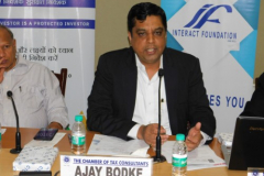 """Capital Market Study Circle Meeting held on 5th October, 2018 at IMC, Churchgate on the subject \""""Emerging trends in Equity Market in these Turbulent times and way forward\"""""""