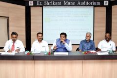 Half Day Seminar on GST Annual Return and GST Audit (Form 9 and 9C) was held on 21st July, 2019 at Vishwaisharayya MSEB Hall, Tarabai Park, Kolhapur