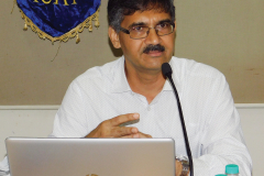 CA N. C. Hegde addressing the delegates