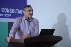 """CA Jagdish Punjabi addressing the members on the subject """"Overview of Benami property Law"""""""