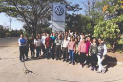 Visit to Volkswagen Car Plant