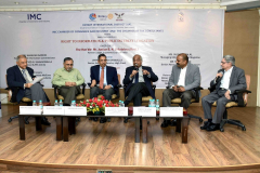 "Panel discussion on ""Right to Information & Public Interest Litigation"" was held jointly with Rotary International District 3141 and Indian Merchants\' Chamber on 23rd April, 2019 at Walchand Hirachand Hall, 4th Floor, IMC, Churchgate"