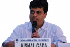 CA Vishal Gada addressing the delegates