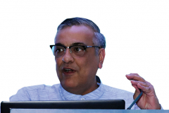 CA Jagdish Punjabi addressing the delegates